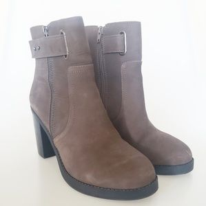 Sole Society Brown Suede Boots Sz 9.5